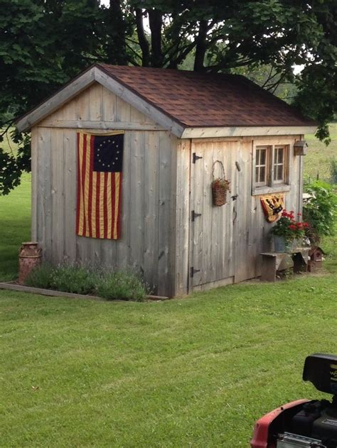 Backyard Outbuildings by Best 25 Rustic Shed Ideas On Rustic Gardens