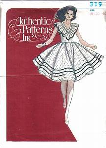 Ladies Square Dance Dress Authentic Patterns Sewing Pattern Misses Size U Pick
