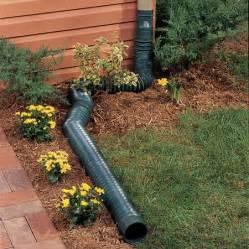 flex a spout downspout diverter yards gardens and drainage solutions
