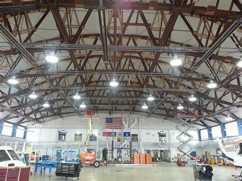 industrial looking lighting hangar lighting hangar lights led lights replace hid in