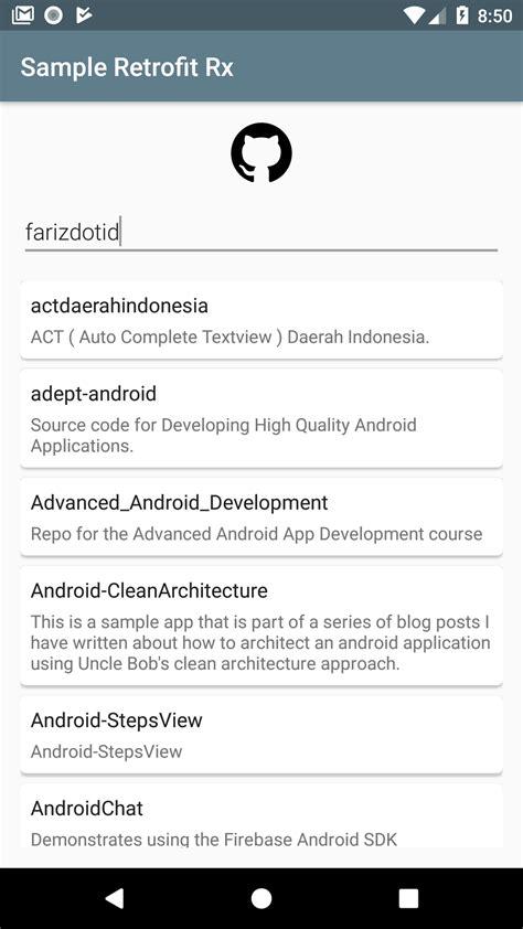cara implementasi sederhana retrofit dan rxjava android