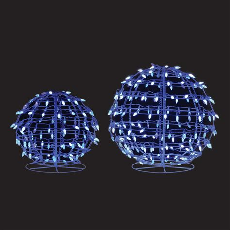 2ct 18in 24in energy best twinkling snowball sculpture