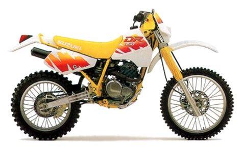 1991 Suzuki Dr350 by Suzuki Dr350 Model History