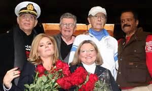 love boat cast reunites  decorate cruise ship float