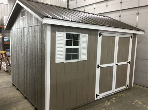 ranch style wood shed  sale  northland sheds