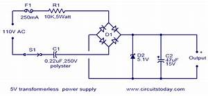 Capacitor - Ac To Dc Without Transformer  How Does This Thing Work