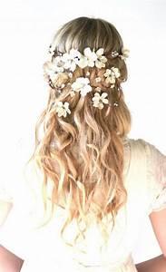 Bridal Crown Flower Head Wreath Wedding Hair Accessory