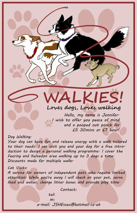 Dog Walking Flyer By Kittenbomb On Deviantart. Destination Wedding Itinerary Template. Template For Business Cards. Genogram Template For Mac. Purdue University Graduate Programs. Community Service Hours Template. Channel Art Template Photoshop. Skills Based Resume Template. Meeting Notes Template Free