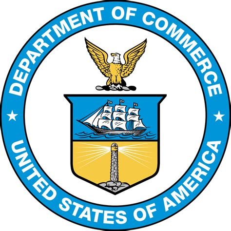us bureau of file seal of the united states department of commerce svg