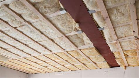 isoler  faux plafond