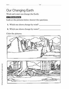 Our Changing Earth Worksheet For 1st