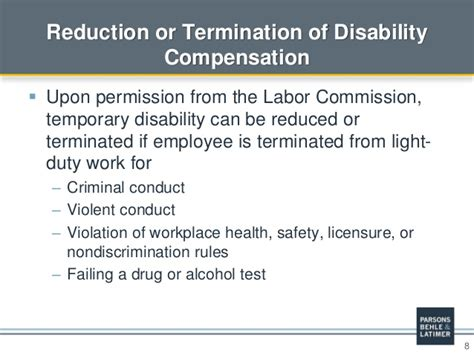 workers compensation light duty policy workers compensation in utah