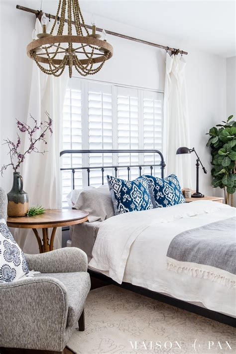 simple master bedroom decorating ideas  spring maison