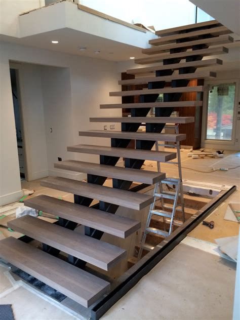 custom curved stairs plytech stairs vancouver bc