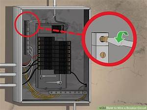 How To Wire A Breaker Circuit  With Pictures