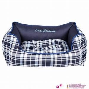 Panier Chien Design : panier amovible cossais bleu pour chien ~ Teatrodelosmanantiales.com Idées de Décoration