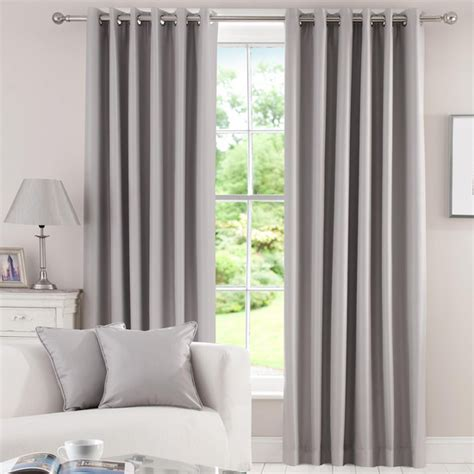 Dunelm Mill Thermal Curtains by Vorh 228 Nge Grau M 246 Belideen