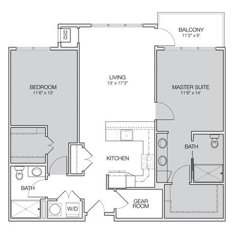 2 Bedroom Apartment Floor Plan by Floor Plan C Greenbelt Apartments