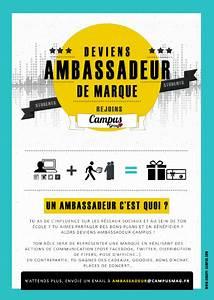 Bon Plan Des Marques : deviens ambassadeur plan te campus ~ Medecine-chirurgie-esthetiques.com Avis de Voitures