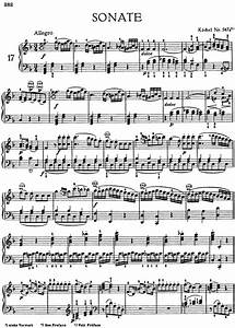 Allegro and Rondo for piano, K. 547a free sheet music by ...