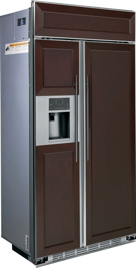 psbyphsv ge profile series  built  side  side refrigerator custom panels
