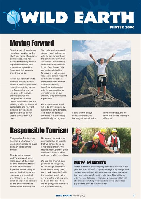 Lunatrix Design | Company Newsletter U0026 Magazine Design