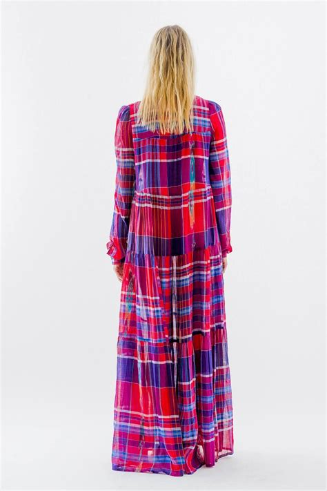 christophe sauvat madras camy dress  california