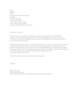 Insurance denial letter template inspirational best s of medical. Sample Insurance Appeal Letter Database - Letter Templates