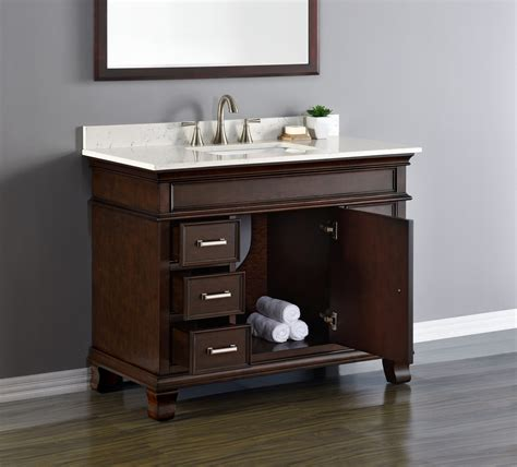 camden  single sink vanity mission hills furniture