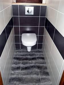 Modele De Wc : modele de carrelage pour wc maison design ~ Premium-room.com Idées de Décoration