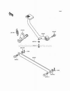 Kawasaki En500-a1 Parts List And Diagram