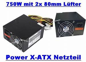 Netzteil Für Pc Berechnen : 750w 750 watt computer pc netzteil sata atx 2x80mm leiser l fter leise rechner ebay ~ Themetempest.com Abrechnung