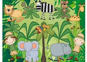 Jungle Theme Wallpaper for Kids - WallpaperSafari