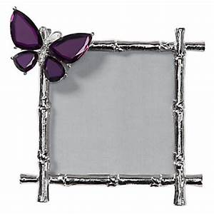 Butterfly Jeweled Frame Photo Frames Decor Z Gallerie