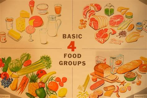 basics of cuisine four basic food groups chart search engine at