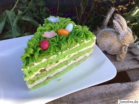 Grüne Torte - Aus meinem Kuchen und Tortenblog