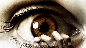 Cg digital art manip eye dark horror hand mood evil ...