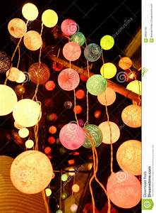 Cotton Ball Lights : cotton ball light stock image image of light thread 59502105 ~ Eleganceandgraceweddings.com Haus und Dekorationen