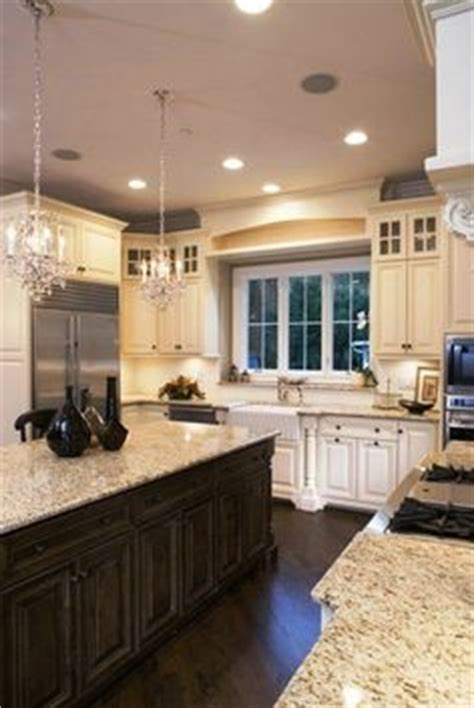 kitchen cabinets with cabinets with stained woodwork trying to figure out 6469