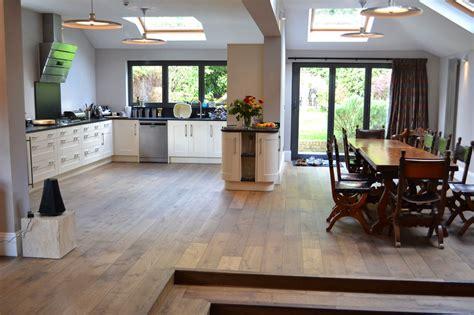 oak kitchen wood flooring