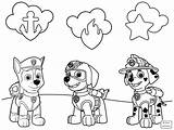 Wings Super Coloring Pages Chase Getdrawings sketch template