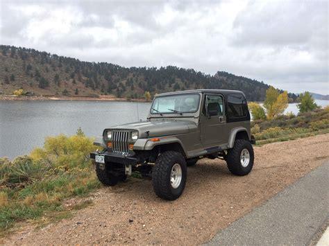 old jeep wrangler 1990 1990 jeep wrangler sahara sport utility 2 door 4 2l