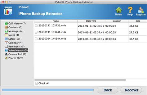 ipubsoft iphone backup extractor ipubsoft iphone backup extractor for mac extract and