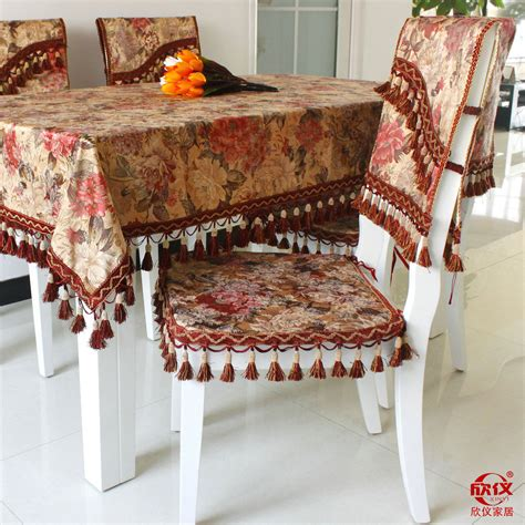 dinner table chair covers new arrival fashion classic quality fabric table runner
