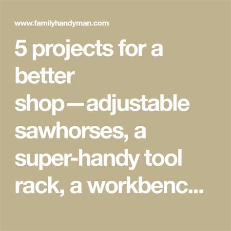 workshop organization tips workbench  storage