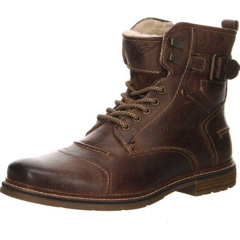Bugatti shoes are popular for their contemporary detailing and comfort. Bugatti Lace-up Boots Men 321-62251-3200 Brown | shoesyouwant