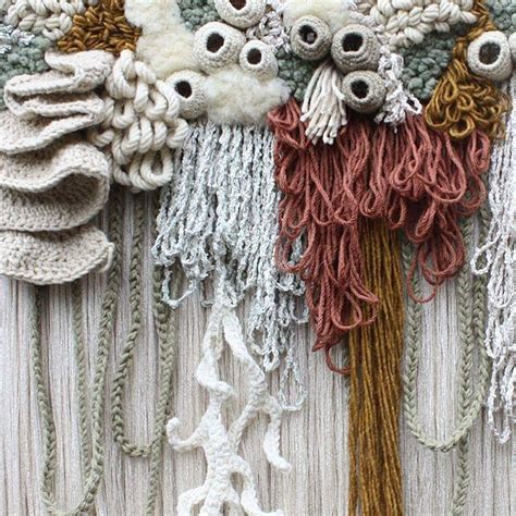 textile art captures  beauty   worlds coral reef