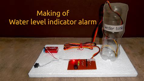 Water Level Indicator Circuit Diagram With Alarm