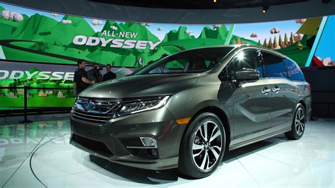 all new 2018 all new 2018 honda odyssey offers high tech consumer reports