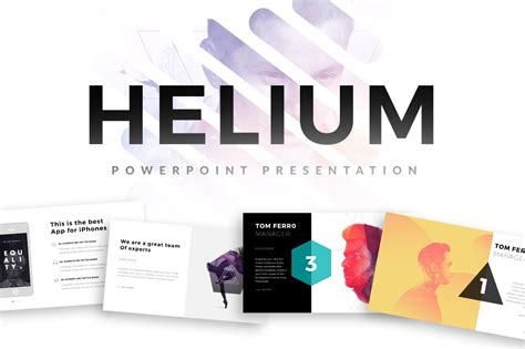 helium powerpoint template powerpoint templates
